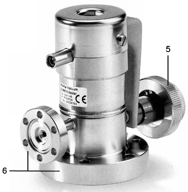 Sealing techniques and system components - All metal UHV precision dosing valve